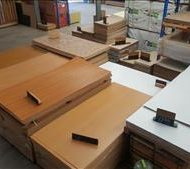 Caravan Timber look plywood
