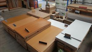 Caravan Timber look plywood