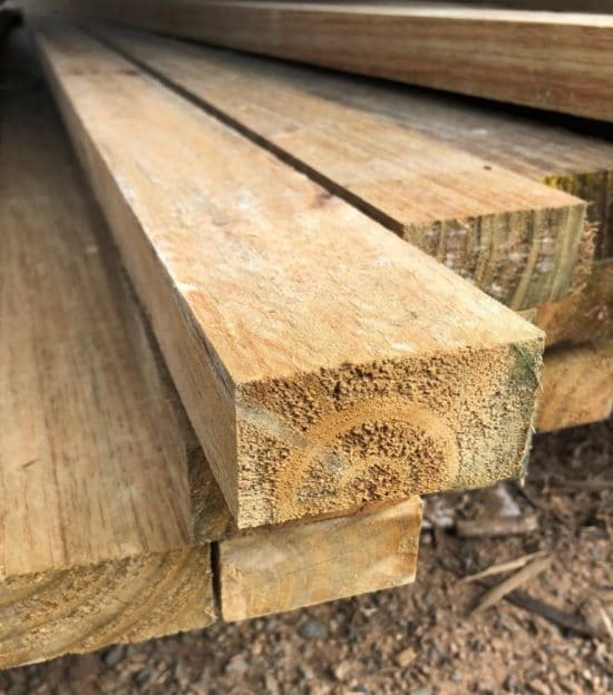 Pine Fencing Rails H3