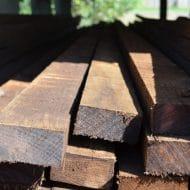 Hardwood Fencing Rails H3